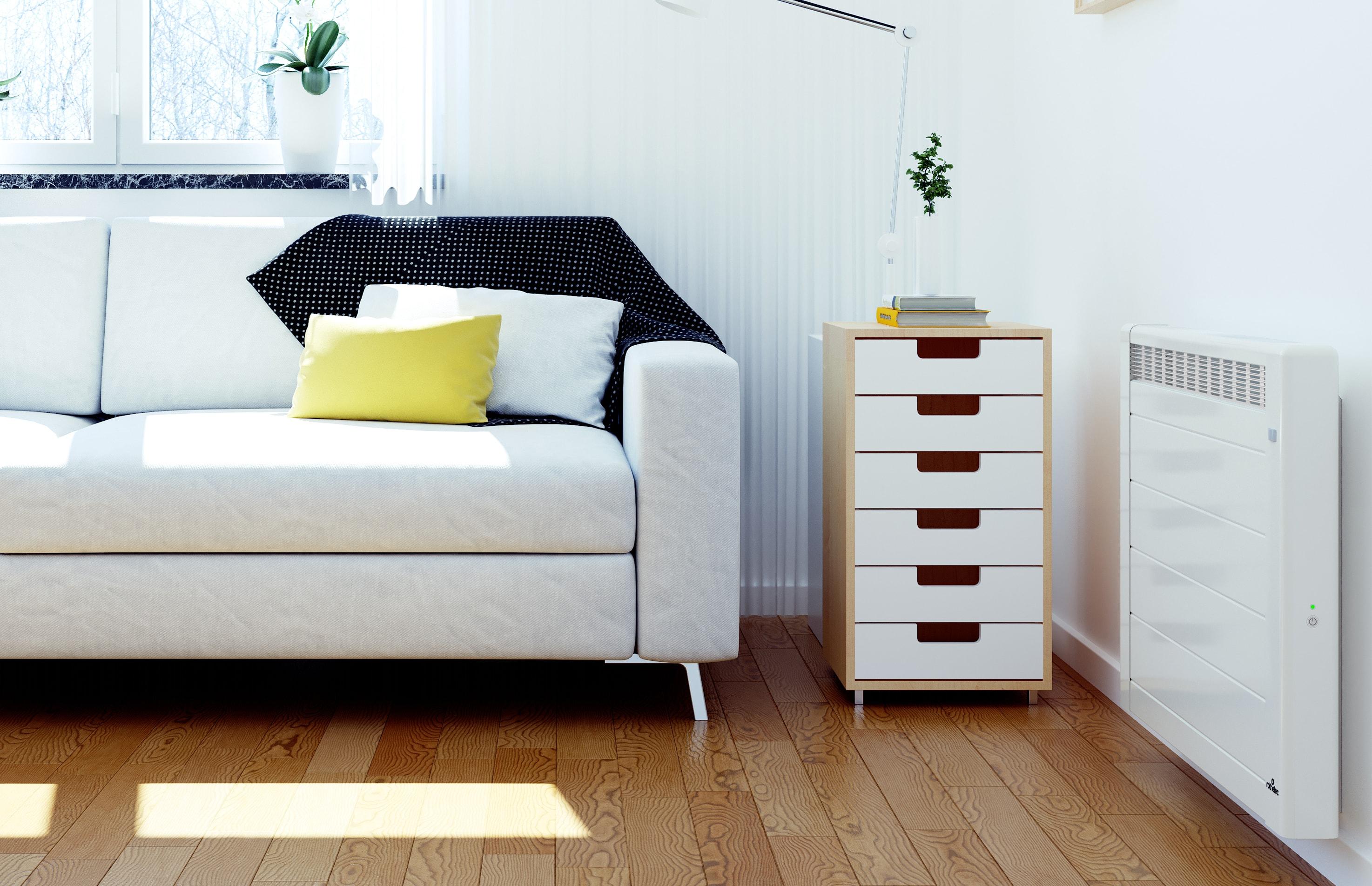 le radiateur lectrique horizontal radiateur mural rothelec. Black Bedroom Furniture Sets. Home Design Ideas